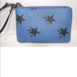 Special Edition Coach Corner Zip Wristlet Wallet